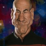 Jean Luc STAR TREK THE NEW GENERATION.2016