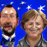 """Mariano & Merkel""  Digital  2013"