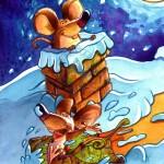 """ Mice"" Watercolors."