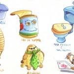 personajes blog